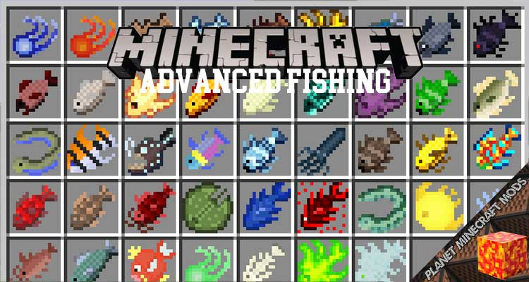 Advanced Fishing Mod 1.12.2