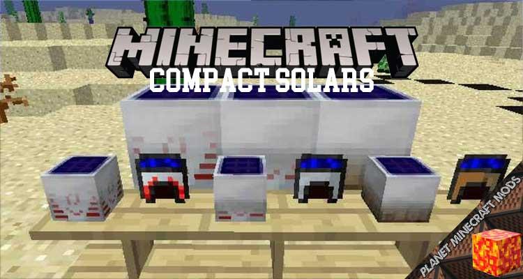Compact Solars Mod 1.12.2/1.10.2/1.7.10