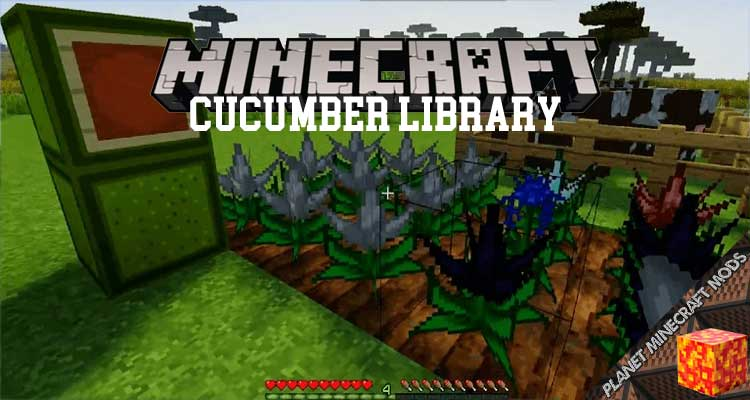 Cucumber Library Mod 1.16.5/1.15.2/1.14.4