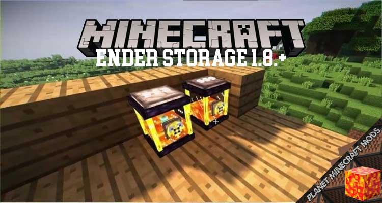 Ender Storage 1.8.+ Mod 1.16.5/1.12.2/1.7.10