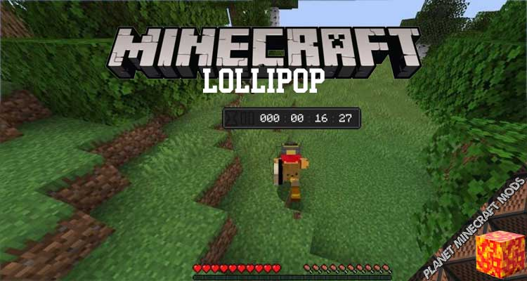 Lollipop Mod 1.16.5/1.15.2/1.14.4