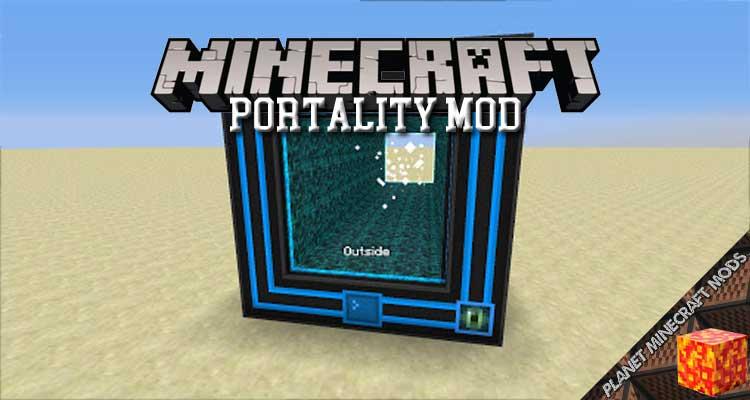 Portality Mod 1.16.5/1.15.2/1.12.2