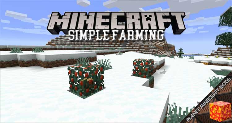 Simple Farming Mod 1.16.5/1.15.2/1.14.4