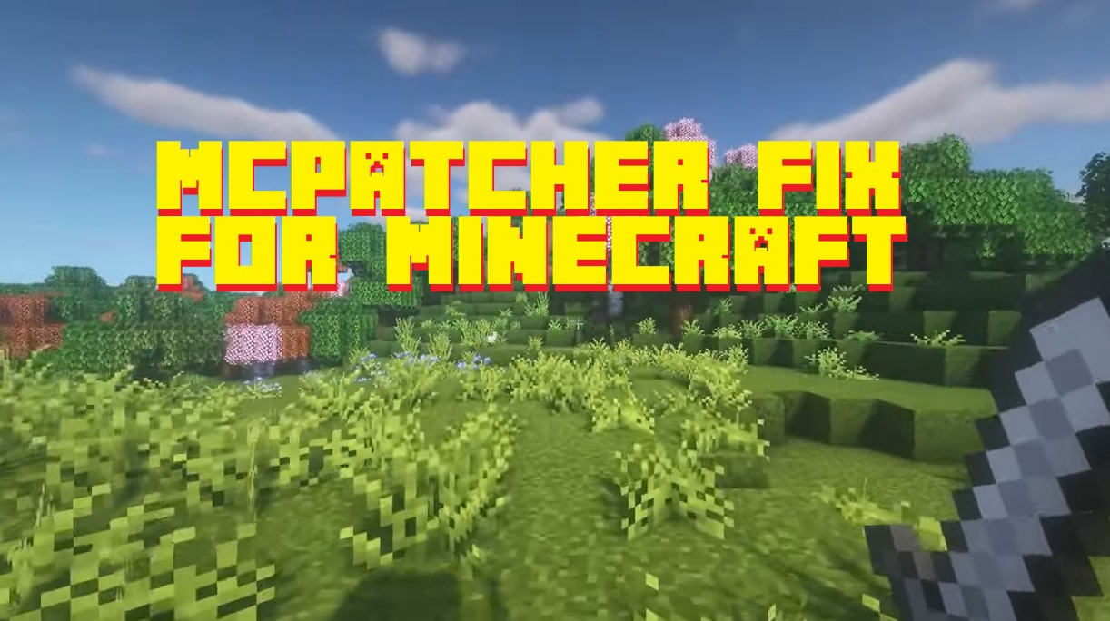 Mcpatcher fix for Minecraft