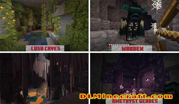 futura actualizacion minecraft 1 17 caves cliffs update