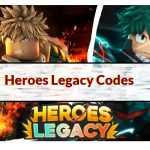 heroes legacy codes roblox 1