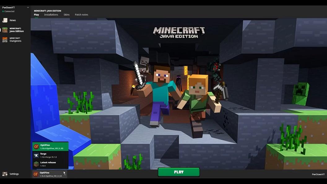 install forge screenshot