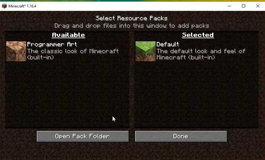 resource packs