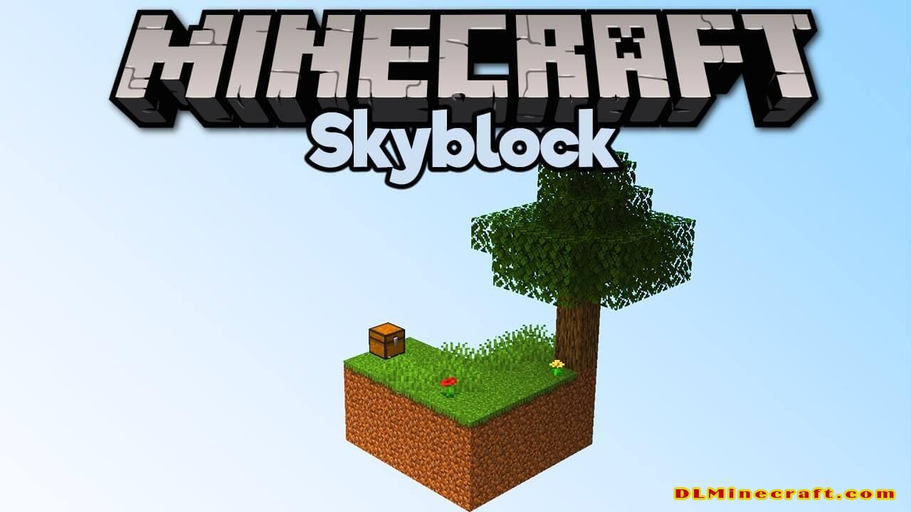 Minecraft SkyBlock Map