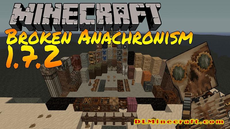 Broken Anachronism v14 - Plant Overhaul and 1.7 Blocks Resource Packs