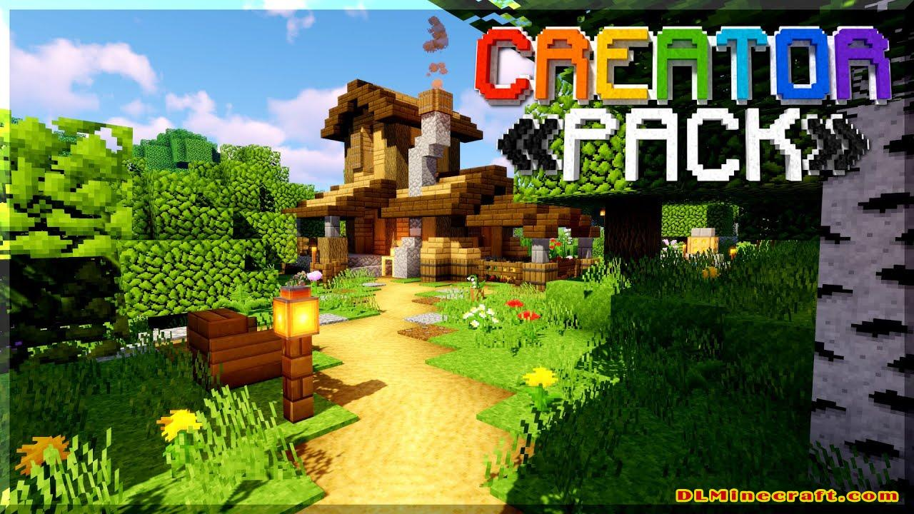 The CreatorPack Texture Pack