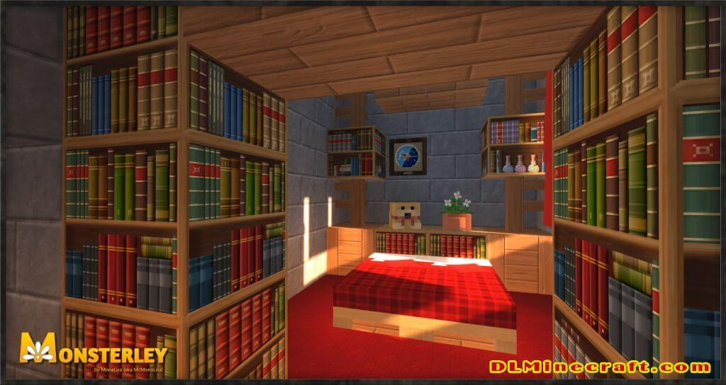 Monsterley Texture Pack for Minecraft