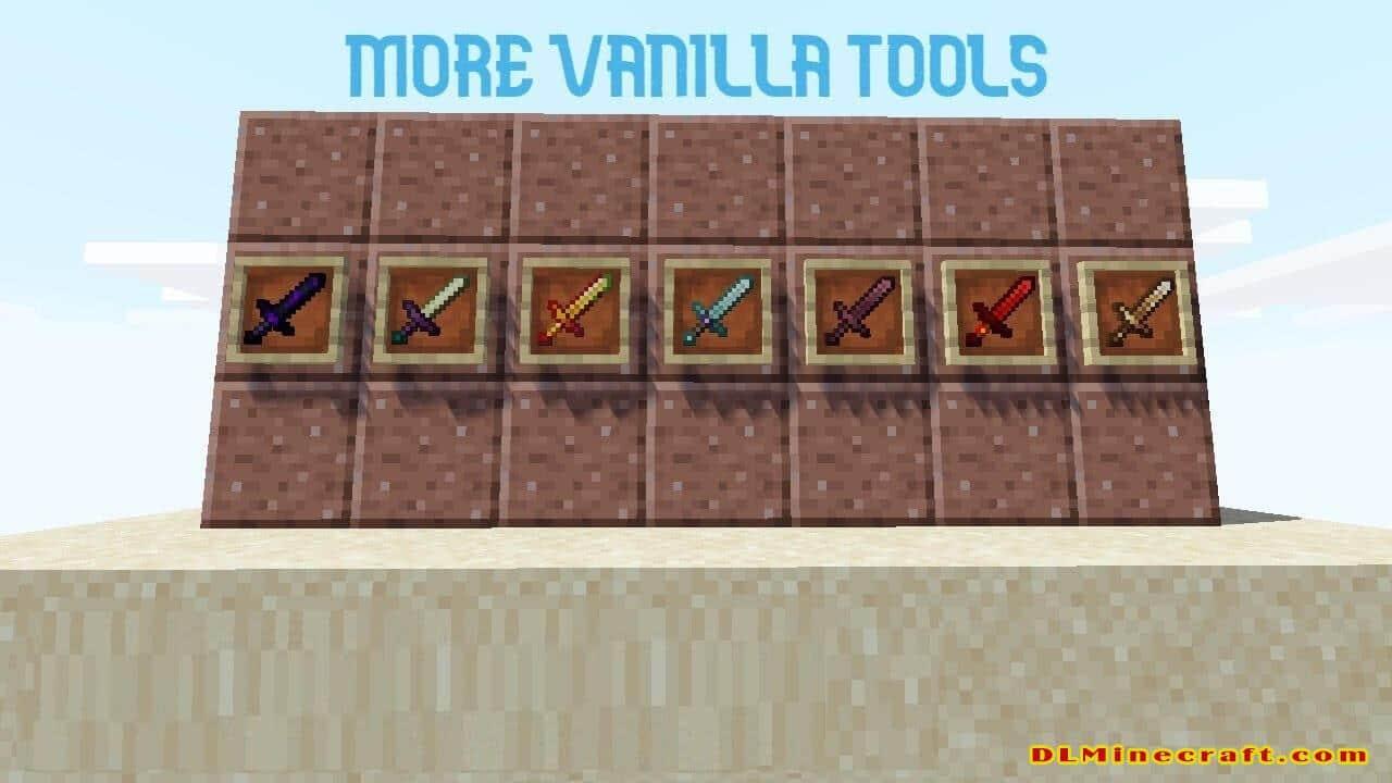 More Vanilla Tools