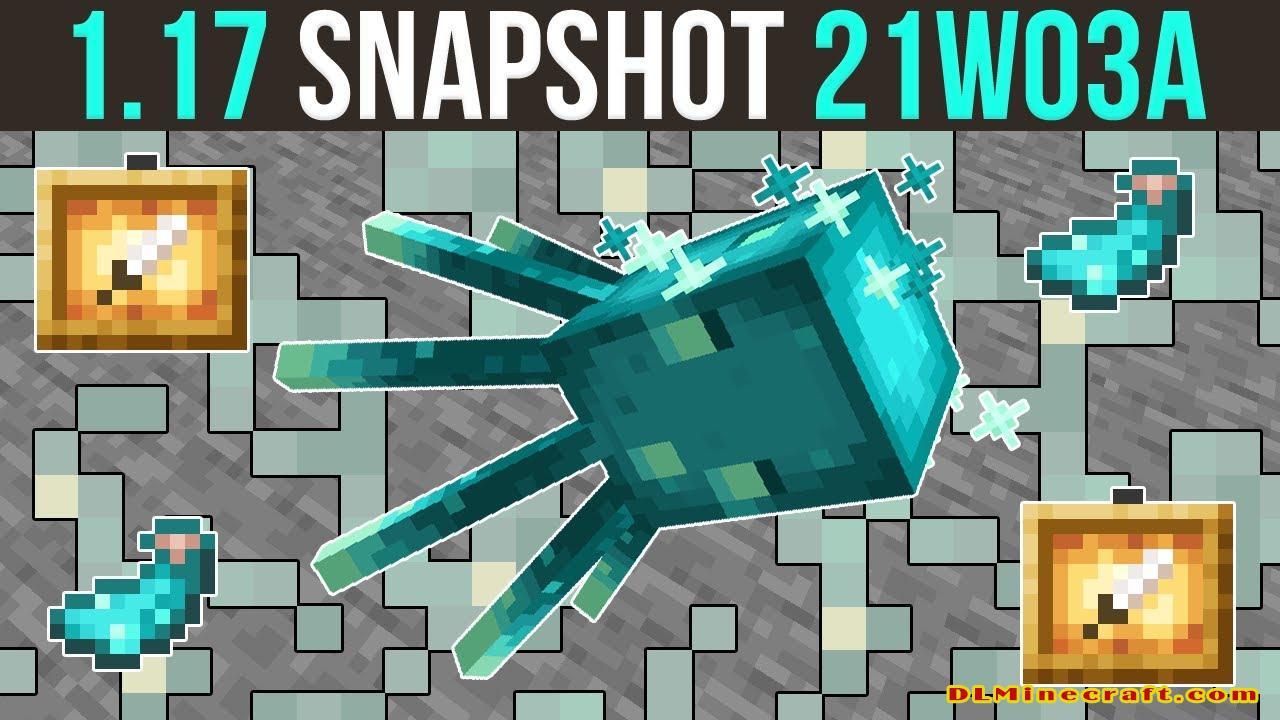 Minecraft 1.17 Snapshot 21w03a