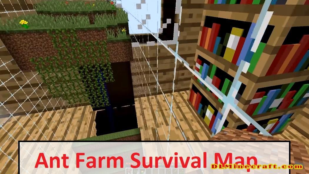 Ant Farm Survival Map