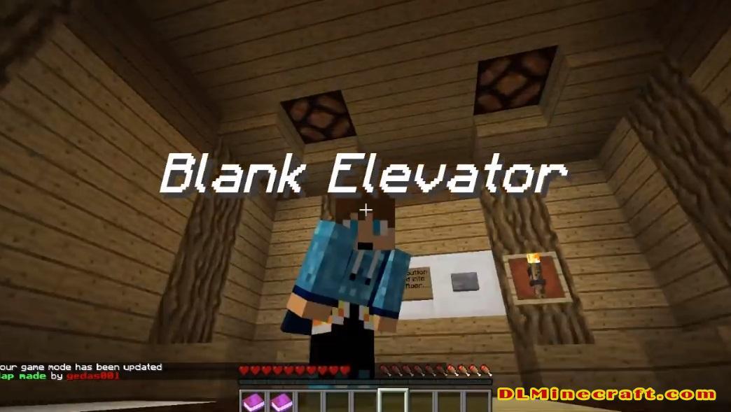 Blank Elevator Map