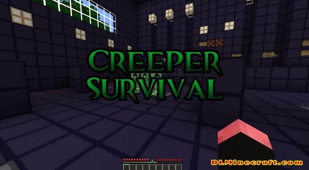 Creeper Survival Map
