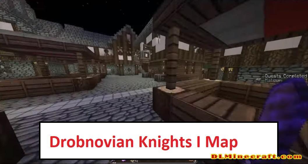 Drobnovian Knights I Map
