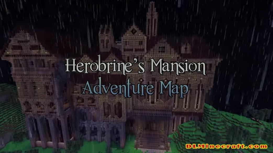 Herobrine's Mansion Map