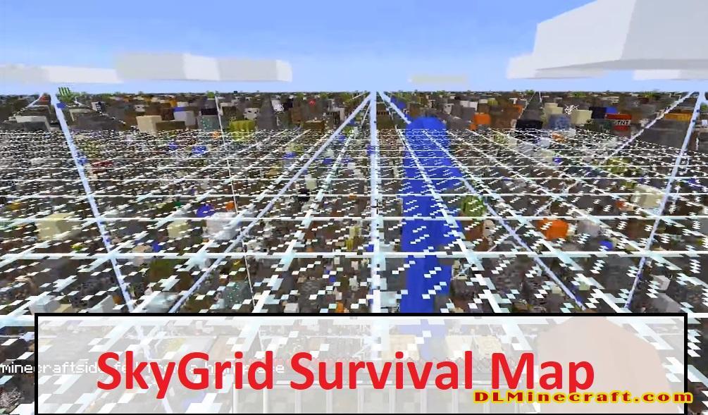 SkyGrid Survival Map
