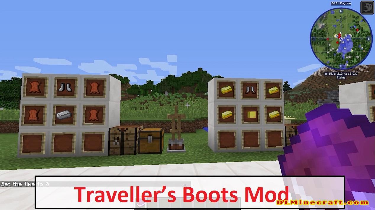 Traveller's Boots Mod