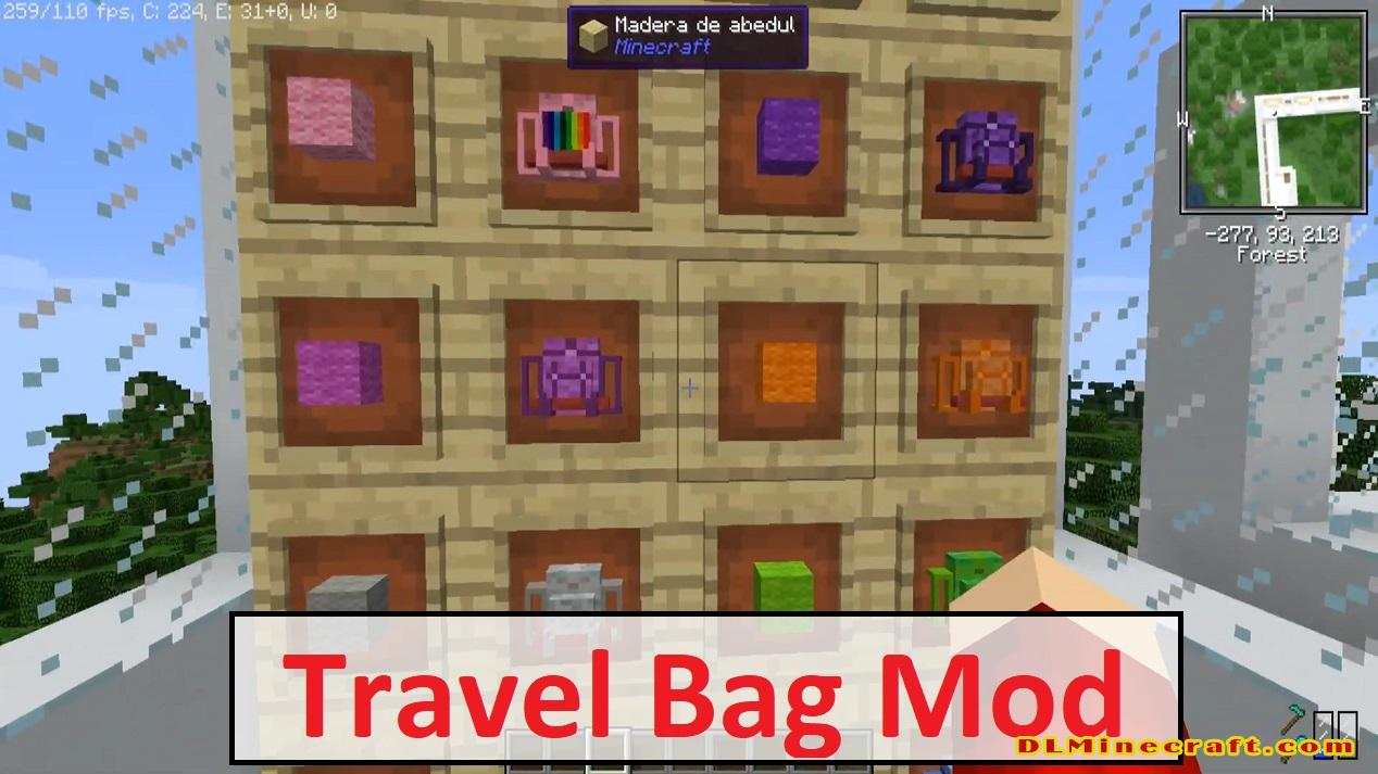 Travel Bag Mod