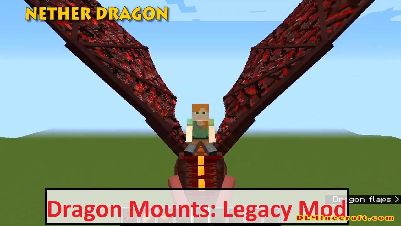 Dragon Mounts: Legacy Mod