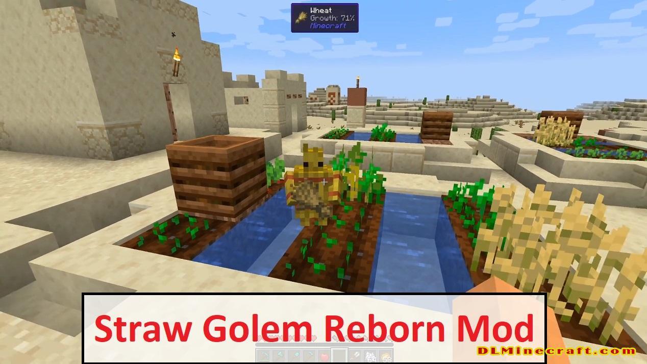 Straw Golem Reborn Mod
