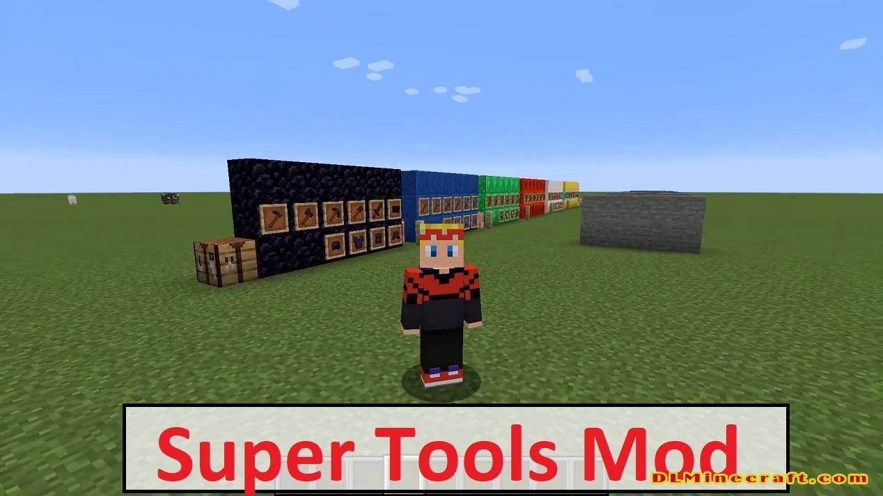 Super Tools Mod