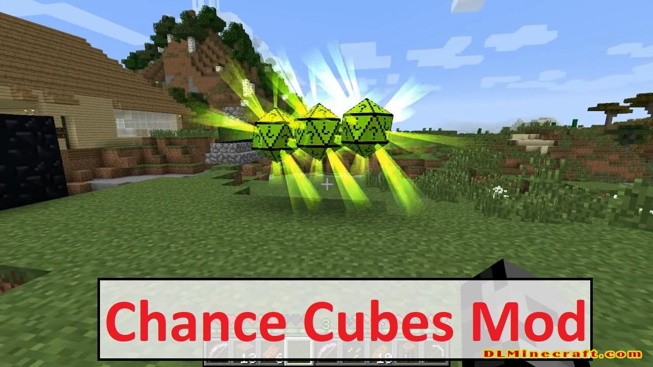 Chance Cubes Mod