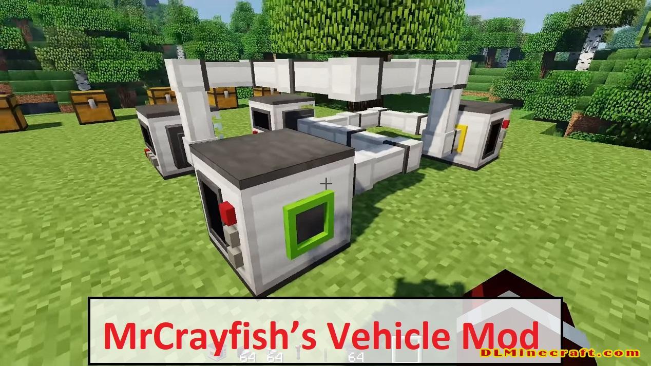 MrCrayfish's Vehicle Mod