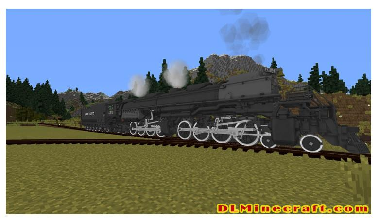 The 1.16.5 version of Immersive Railroading Mod is integrated with so many new functions to enhance users' experience/ Ph: reddit.com